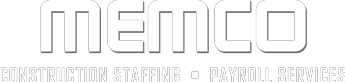 MEMCO CONSTRUCTION STAFFING  – PAYROLL SERVICES Logo